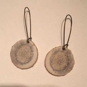 Antler Slice Earrings